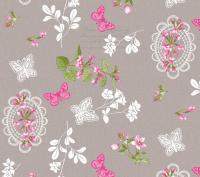 bloemen vlinders tafelzeil 387201