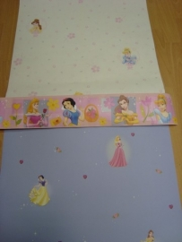 meisjes paars  roze geel prinses behang 29