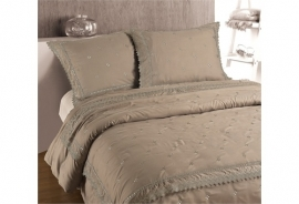 Fancy Embroidery - DBO RL 12 Taupe - Taupe