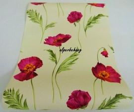 klaprozen behang roze xxx63