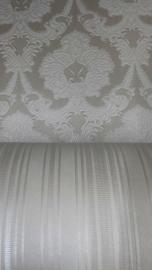 wit grijs barok behang xx87