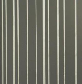 BN Wallcoverings Glamorous 46721 streep zwart, taupe vlies
