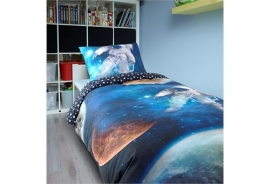 Dreamhouse Bedding For Kids - DBO Space Man - Multi