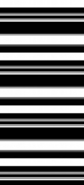 Esta Home Belle Rose Black & White 184406 Stripes Black & White gordijnstof