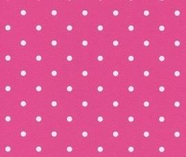 Rasch Kids Club 200041 Stippen behang roze wit