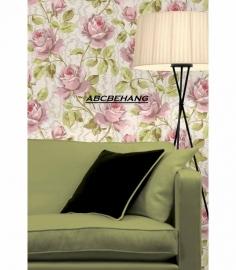 rozen bloemen fleurig 3d vinyl behang xx8