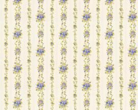 bloemetjes behang  dubbelbreed 34802-9