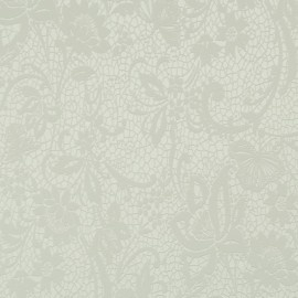 BN Wallcoverings Glamorous 46751 grijs kant bloemen vlies