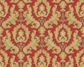 rood goud barok behang klassiek 36163-6