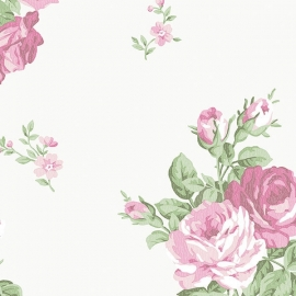 Norwall English Florals bloemen behang G34315