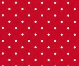 Rasch Kids Club 200003 Stippen behang rood wit