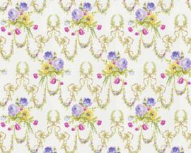 engelse bloemen behang 31282-2