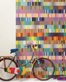 Eijffinger Stripes+ Wallpower 377200 Ulti Multi Colour