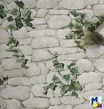 steen behang met klimplanten x201