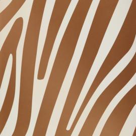 Dutch First Class Jungle Club behang zebraprint