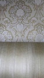 wit goud barok behang xx85