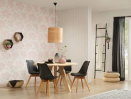 bloemen behang roze 302356