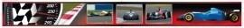 Dutch zelklevende behangrand 104 Formule 1