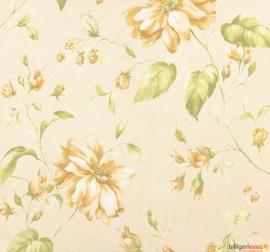 53739 oranje groen bloemen astoria marburg vlies behang