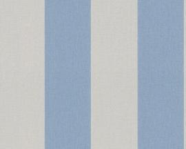 AS Creation Elegance strepen beige blauw behang 9483-11