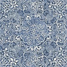 delftsblauw behang retro sk10012