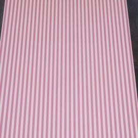 cozz kids 4005 wit roze streepjes behang