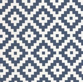 retro behang grafisch geometrisch 19194-40
