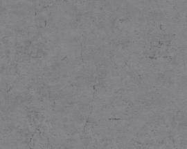 Beton behang zwartgrijs 36911-5