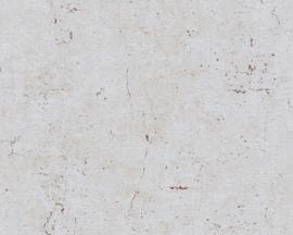 Beton behang roodbruin grijs 36911-6