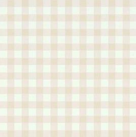 Behang Expresse Beige wit Ruitjes 23803