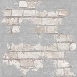 Dutch Reflets behang Baksteen L77609