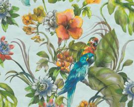 AS Creation Simply Decor Papegaaien behang 30015-2