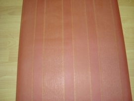 rood goud streepjes behang 34