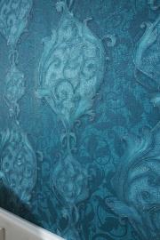 Glitter barok vlies behang 02423-50