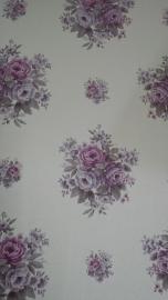 engelse bloemen paars behang noordwand 0012