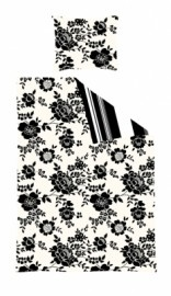 Esta Home Belle Rose Black & White
