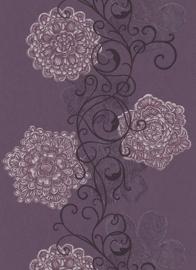 bloemen vlies behang opruiming 5747-45