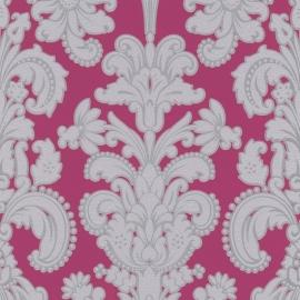 9698-29 roze grijs barok modern behang