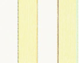 AS Creation Esprit Kids 3 geel strepen behang 94114-1