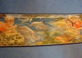 dolfijn behangrand 17