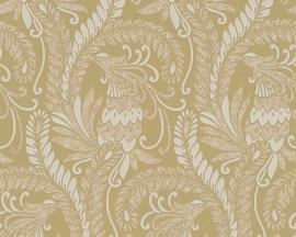 hermitage 9 9438-51 beige barok behang