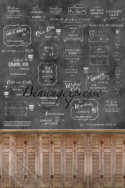Behangexpresse COLORchoc Wallprint Coffeehouse INK 6080