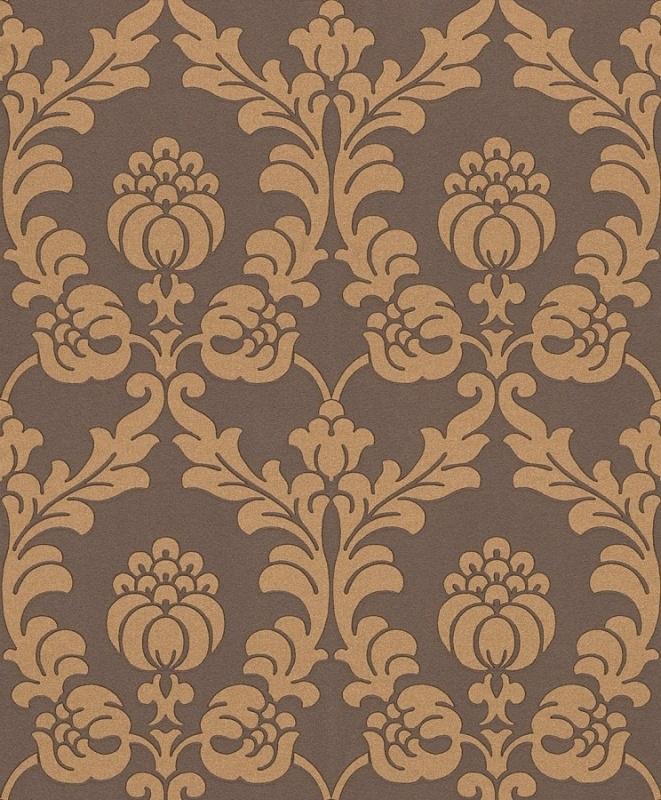 Gentle Elegance behang barok bruin beige 725865