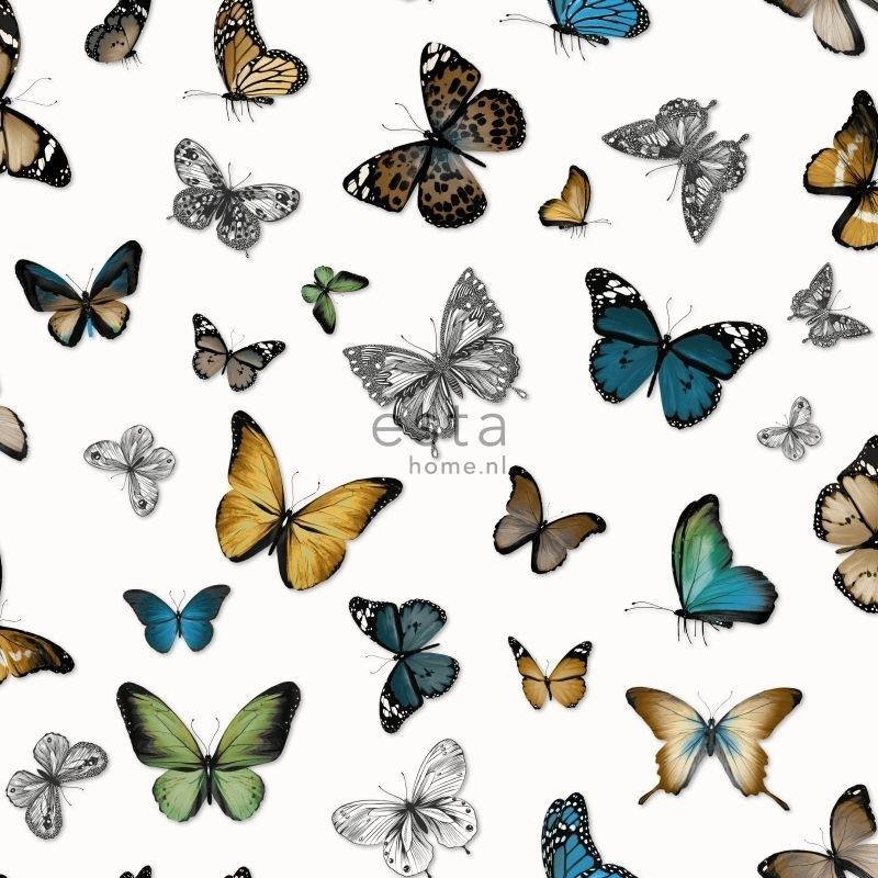 Esta Home Brooklyn Bridge vlinder  behang 138509