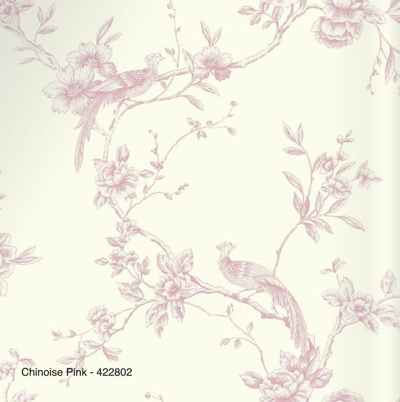 CHINEZE ROSE VOGEL BEHANG - Arthouse Options 2 422802