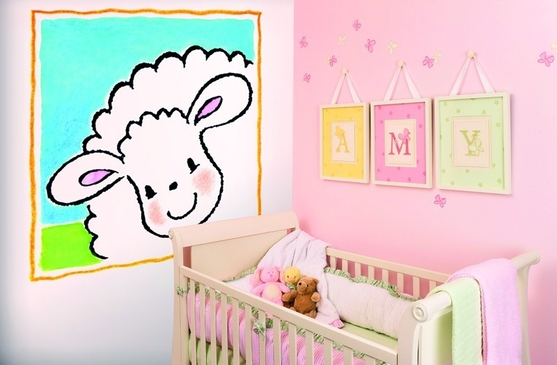Sweet Collection by Monica Maas - Jolly Sheep Frame art. 5039