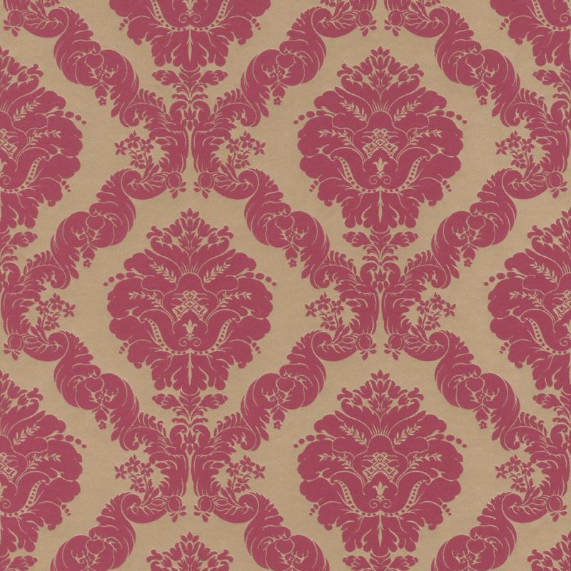 klassiek behang barok rood goud  532241