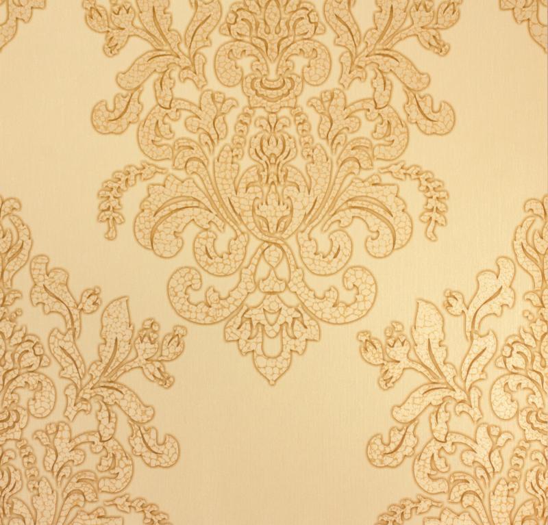 Hermitage barok crème metallic behang 34143-4