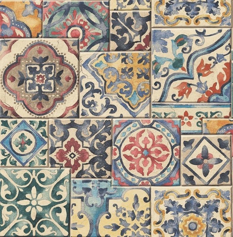 Dutch Reclaimed behang FD22301 Marrakesh Tiles