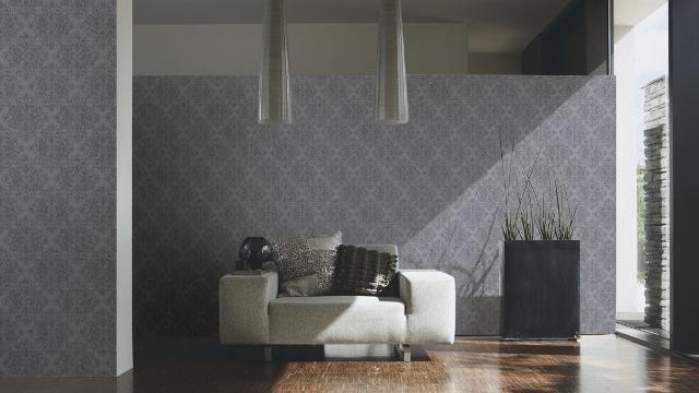grijs barok behang glitter midlands 31990-2